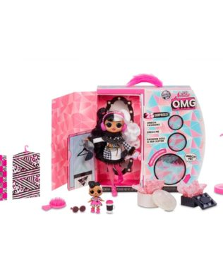 L.O.L. Surprise! O.M.G. Winter Disco Dollie Fashion Doll and Sister – LO.L. Surprise
